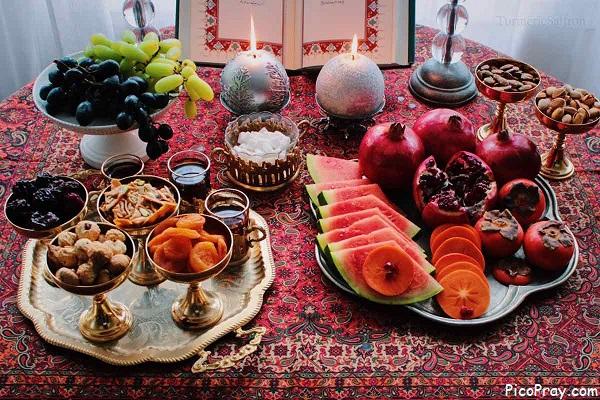 آداب و رسوم ایرانیان در شب یلدا