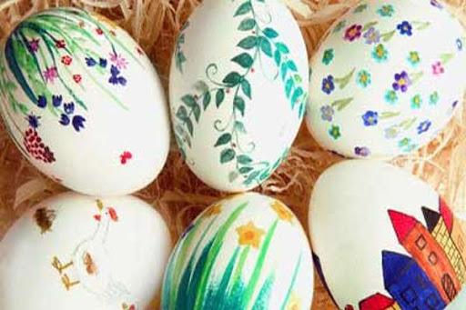 ترفندهای رنگ آمیزی تخم مرغ هفت سین